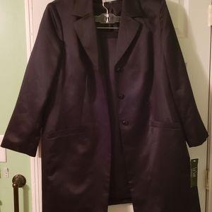 2 Piece Black Skirt Suit